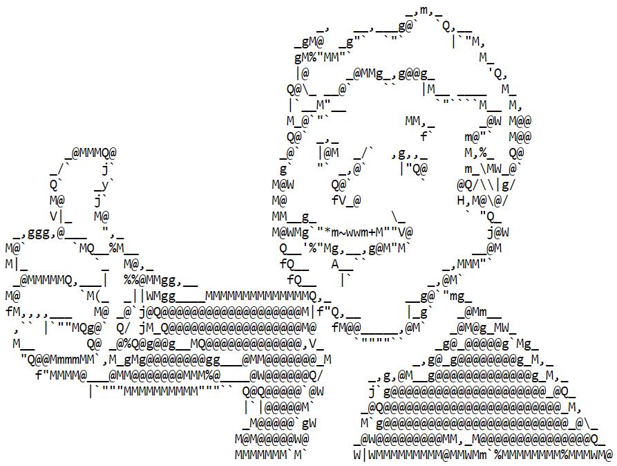 Преобразование черно-белых изображений в ASCII-графику при помощи неотрицательного матричного разложения - 1