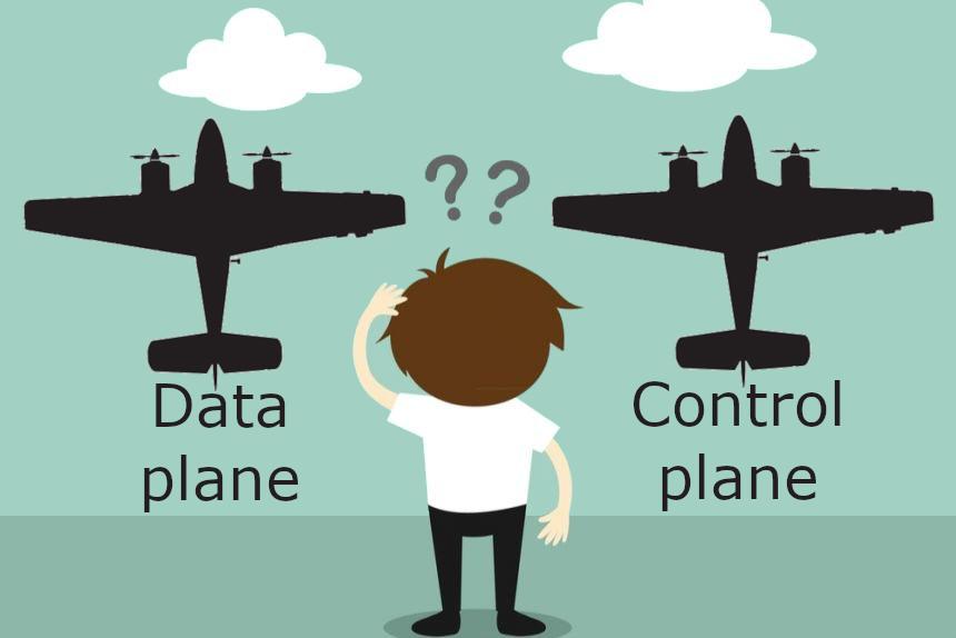 Сервисная сеть, «Плоскость данных» и «Плоскости управления» (Service mesh data plane vs. control plane) - 1