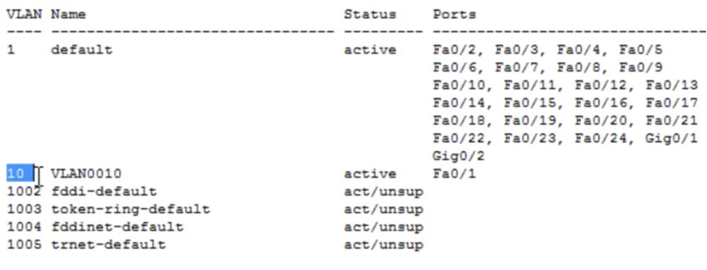 Тренинг Cisco 200-125 CCNA v3.0. День 13. Настройка VLAN - 6