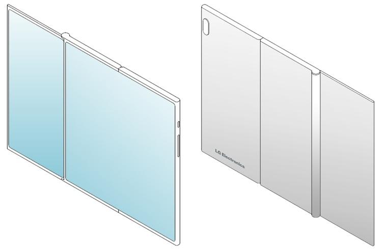 LG создаёт смартфон двойного складывания Z-Fold