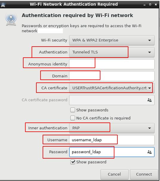 WiFi Enterprise. FreeRadius + FreeIPA + Ubiquiti - 15