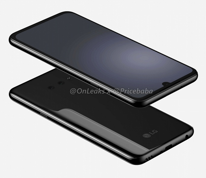 Флагманский смартфон LG G8X со Snapdragon 855 и экраном QHD позирует на огромных рендерах и в видеоролике
