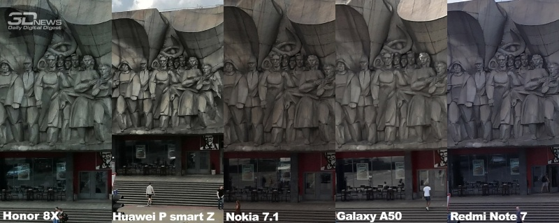 Новая статья: Лучшая камера в смартфоне до 15 тысяч рублей: сравнительный тест Honor 8X, Huawei P smart Z, Nokia 7.1, Samsung Galaxy A50 и Xiaomi Redmi Note 7
