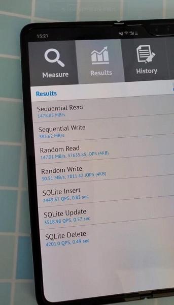 Самая быстрая память UFS 3.0. Смартфон Samsung Galaxy Note10 заметно превзошёл OnePlus 7 Pro и Galaxy Fold