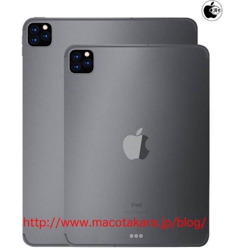 Следующий iPad Pro может получить тройную камеру