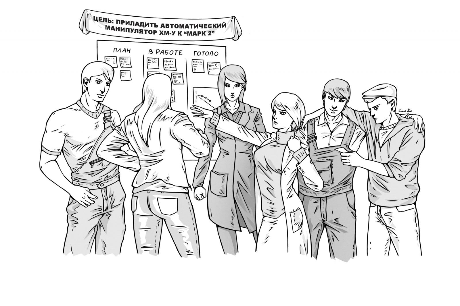 Способ организации коллективного изучения теории в ходе семестра - 1