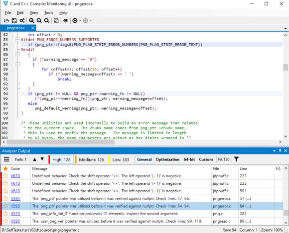 Использование статического анализатора PVS-Studio при разработке для встраиваемых систем на C и C++ - 5