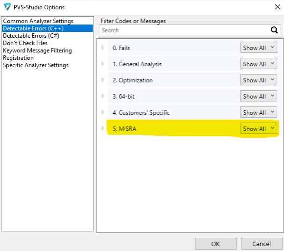 Использование статического анализатора PVS-Studio при разработке для встраиваемых систем на C и C++ - 6