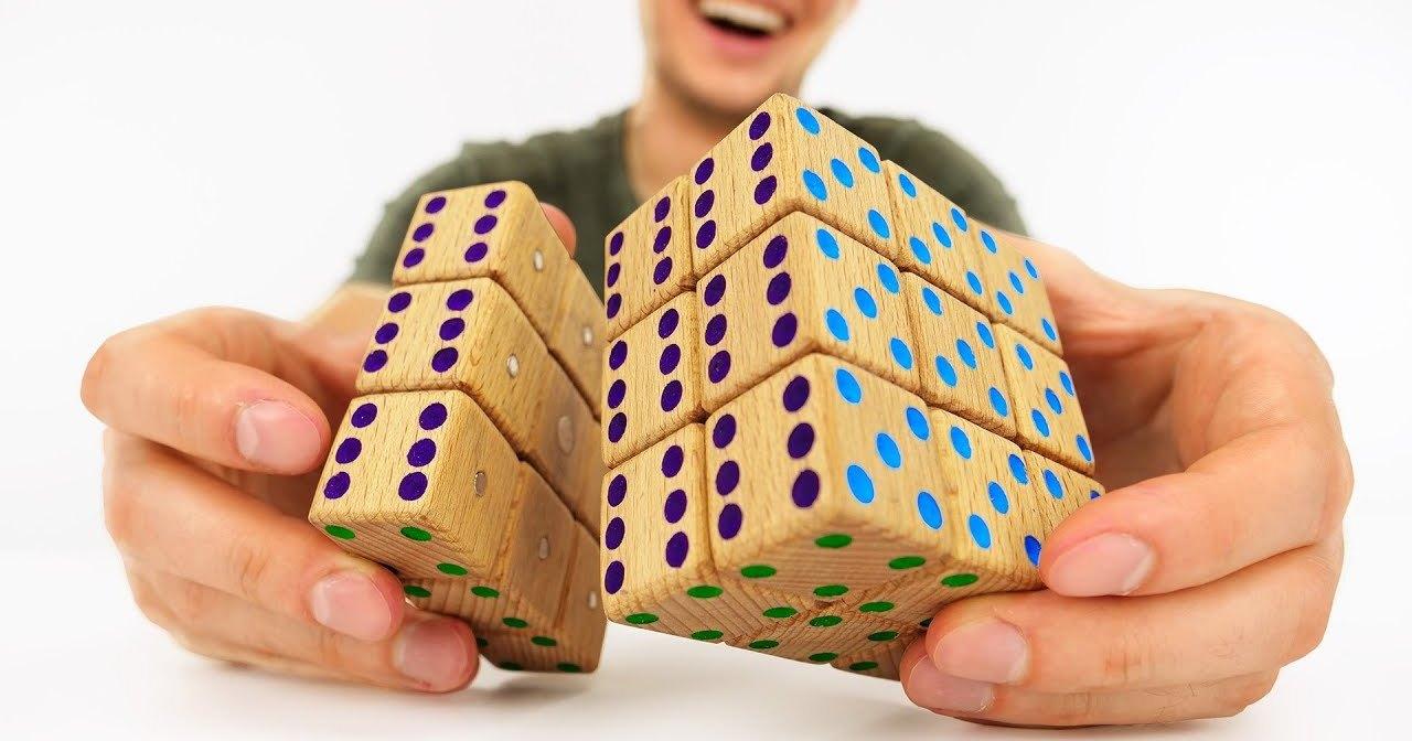 Магнитный кубик Рубика своими руками: мастерим головоломку