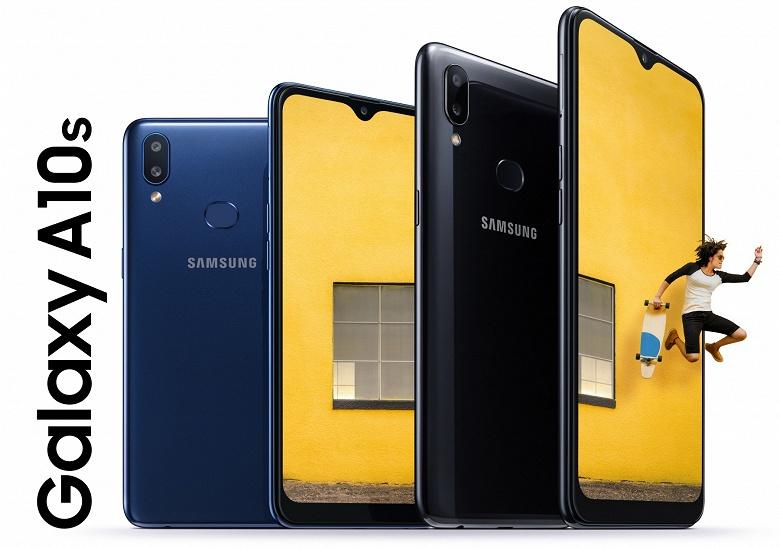 Новый бестселлер. Samsung представила официально смартфон Galaxy A10s