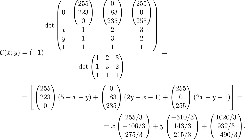 Обратные задачи аффинных преобразований или об одной красивой формуле - 16