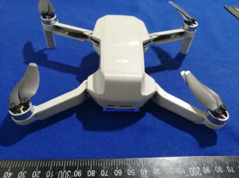 Появились первые спецификации дрона DJI Mavic Mini