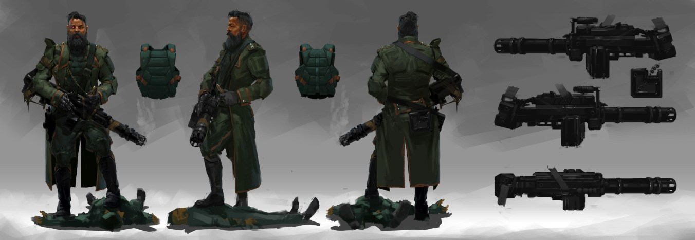 Рефлексия геймдизайнера: персонажи для игры, которая не вышла - 12