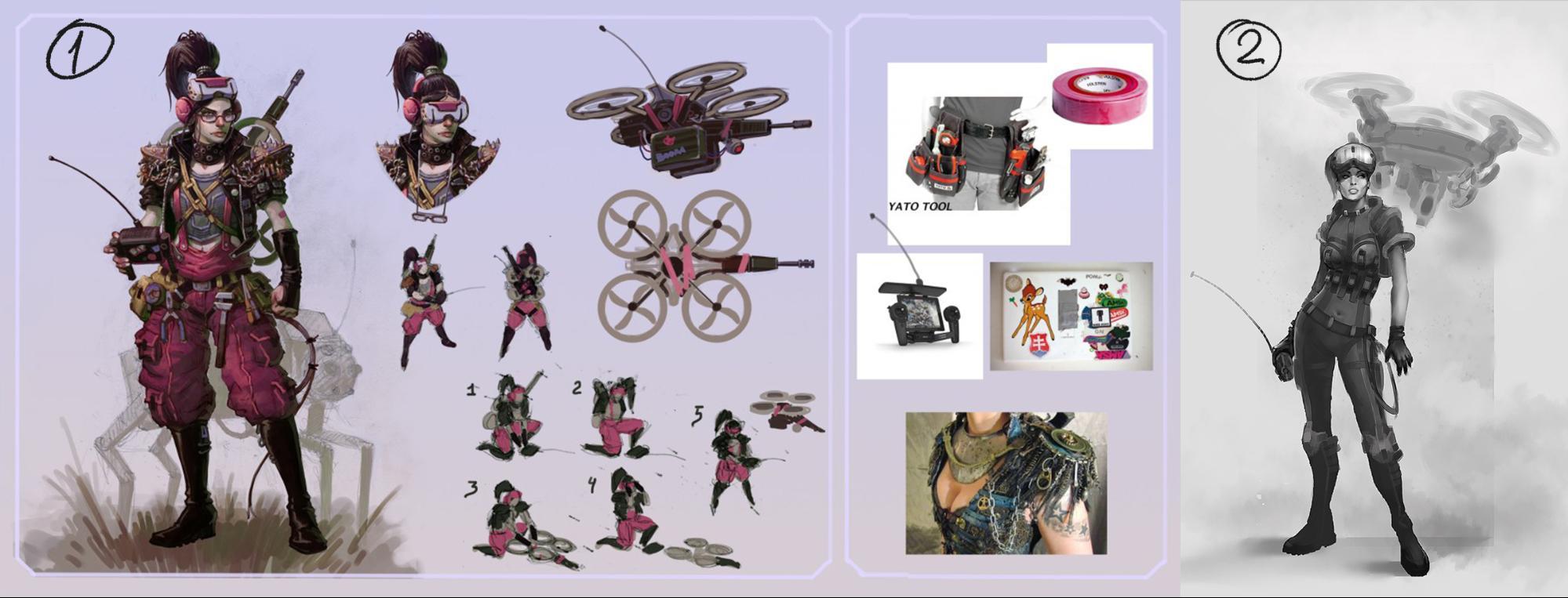 Рефлексия геймдизайнера: персонажи для игры, которая не вышла - 13