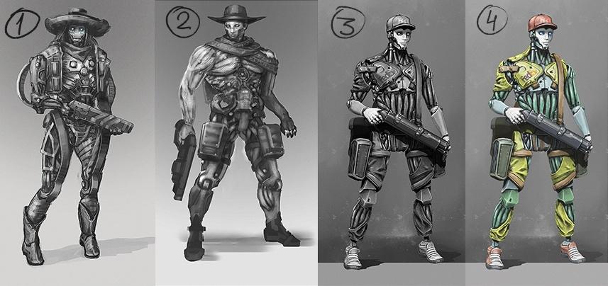 Рефлексия геймдизайнера: персонажи для игры, которая не вышла - 15