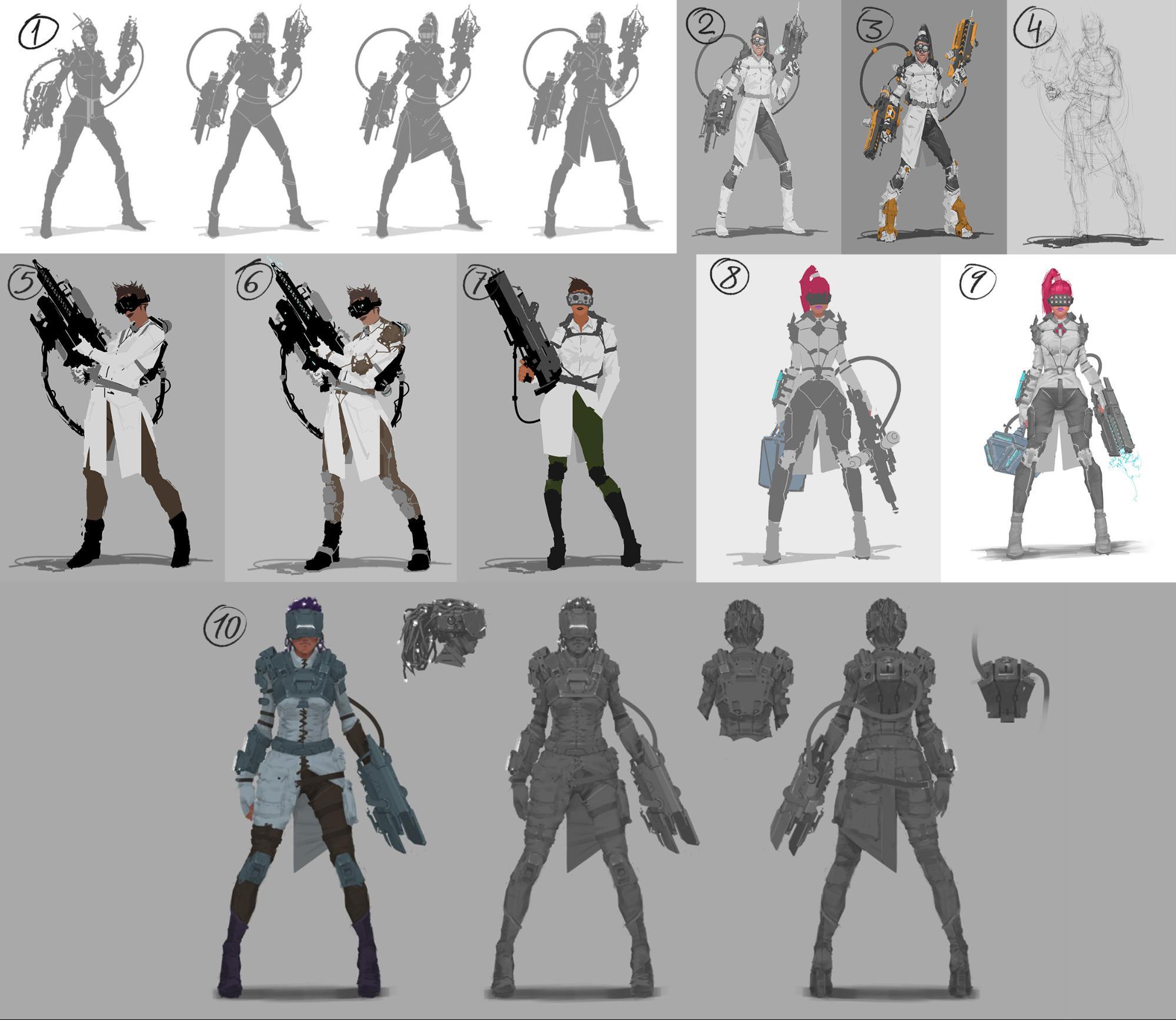 Рефлексия геймдизайнера: персонажи для игры, которая не вышла - 17