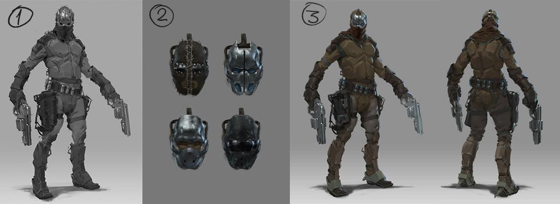 Рефлексия геймдизайнера: персонажи для игры, которая не вышла - 18