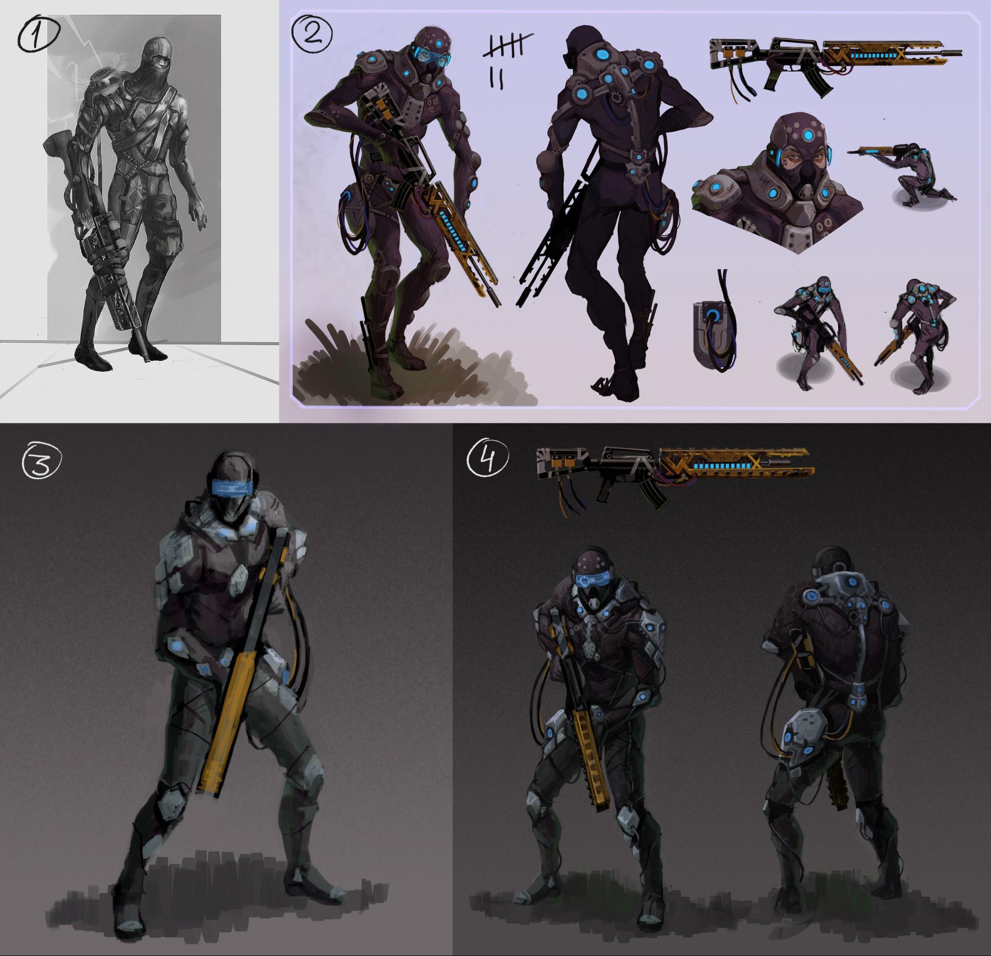 Рефлексия геймдизайнера: персонажи для игры, которая не вышла - 3
