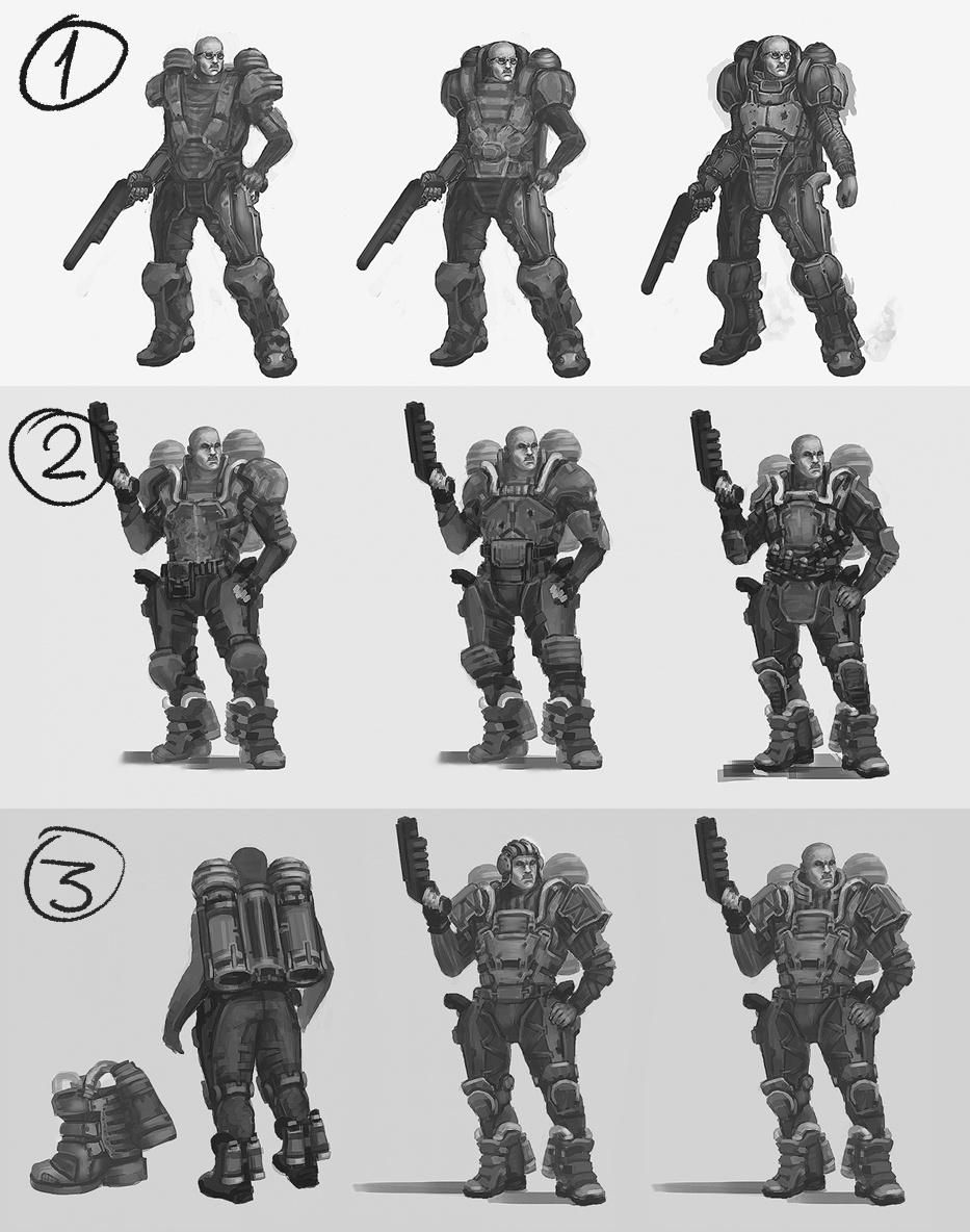Рефлексия геймдизайнера: персонажи для игры, которая не вышла - 5