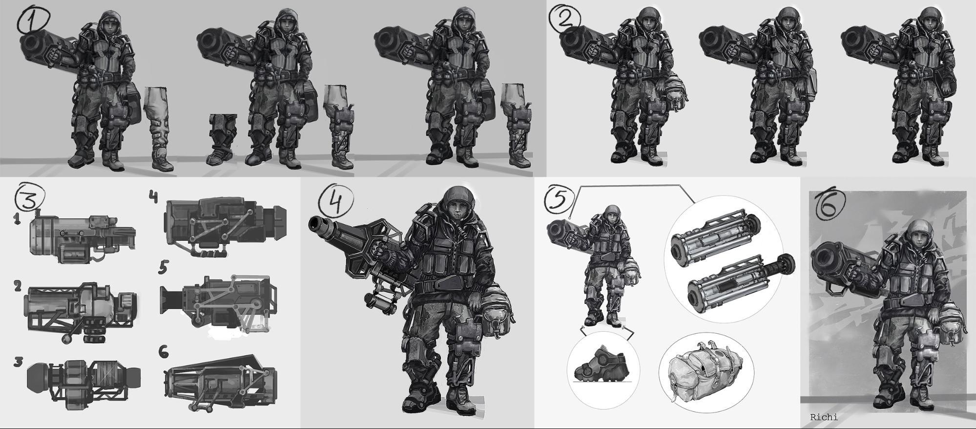 Рефлексия геймдизайнера: персонажи для игры, которая не вышла - 9