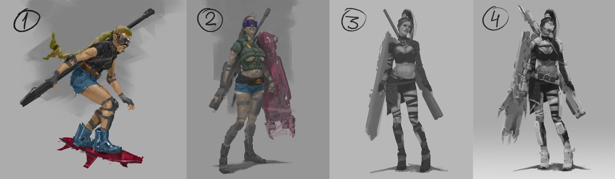 Рефлексия геймдизайнера: персонажи для игры, которая не вышла - 1