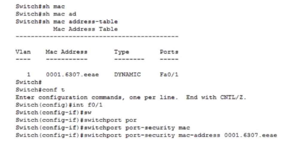 Тренинг Cisco 200-125 CCNA v3.0. День 15. Медленная связь и функция Port Security - 18
