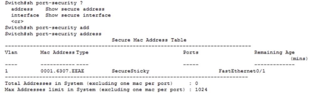 Тренинг Cisco 200-125 CCNA v3.0. День 15. Медленная связь и функция Port Security - 21