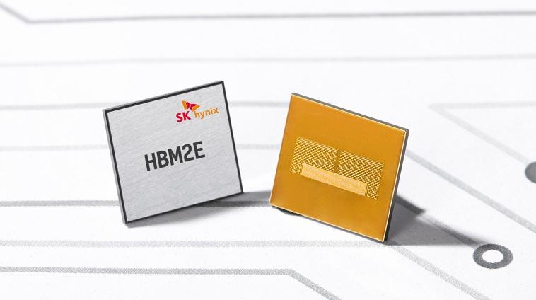 У SK Hynix готова память HBM2E с пропускной способностью 460 ГБ/с