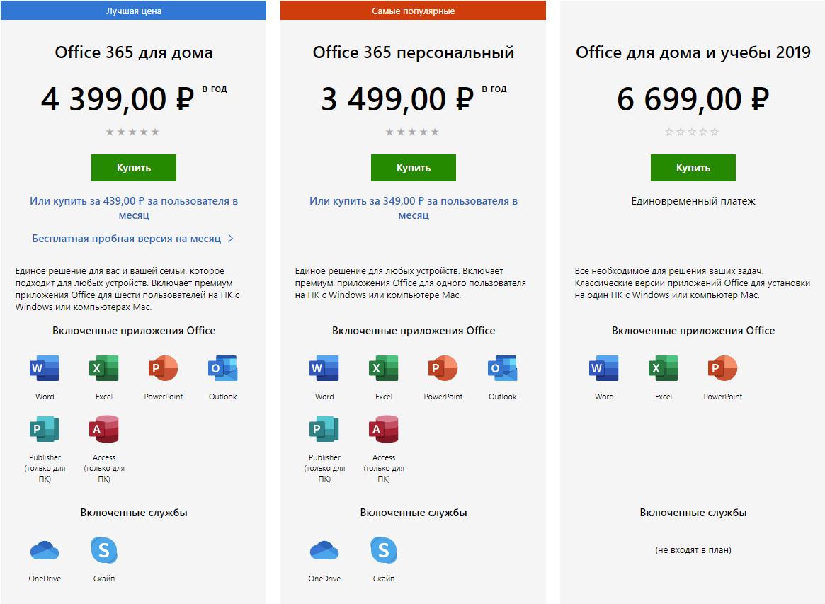 Microsoft перевела Office 365 для частных лиц на оплату по подписке - 1