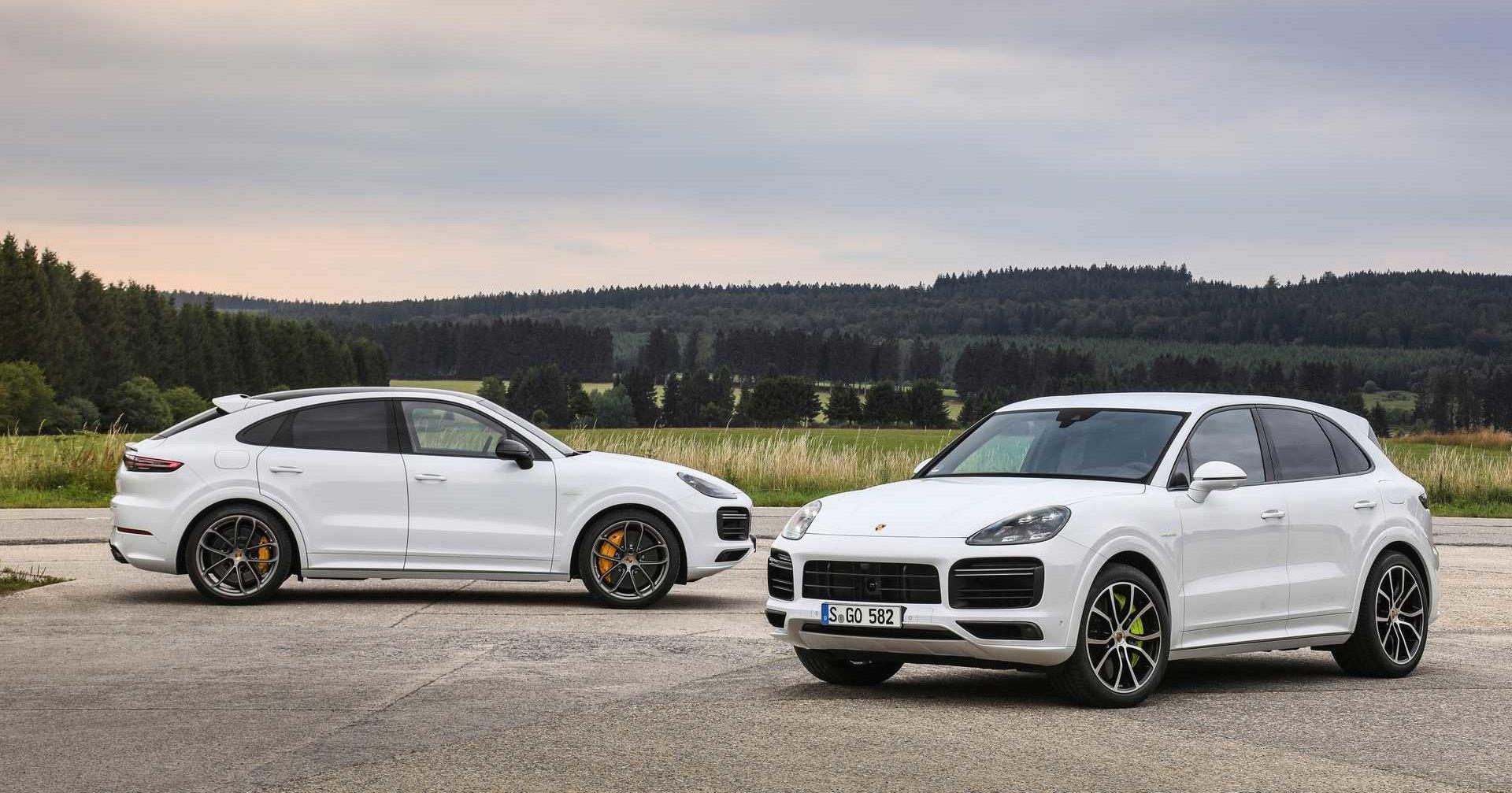Porsche выпустила самый мощный Cayenne