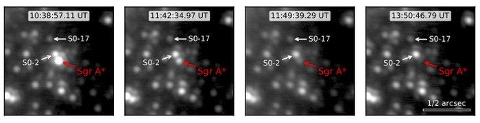Черная дыра в центре Млечного Пути произвела загадочную яркую вспышку