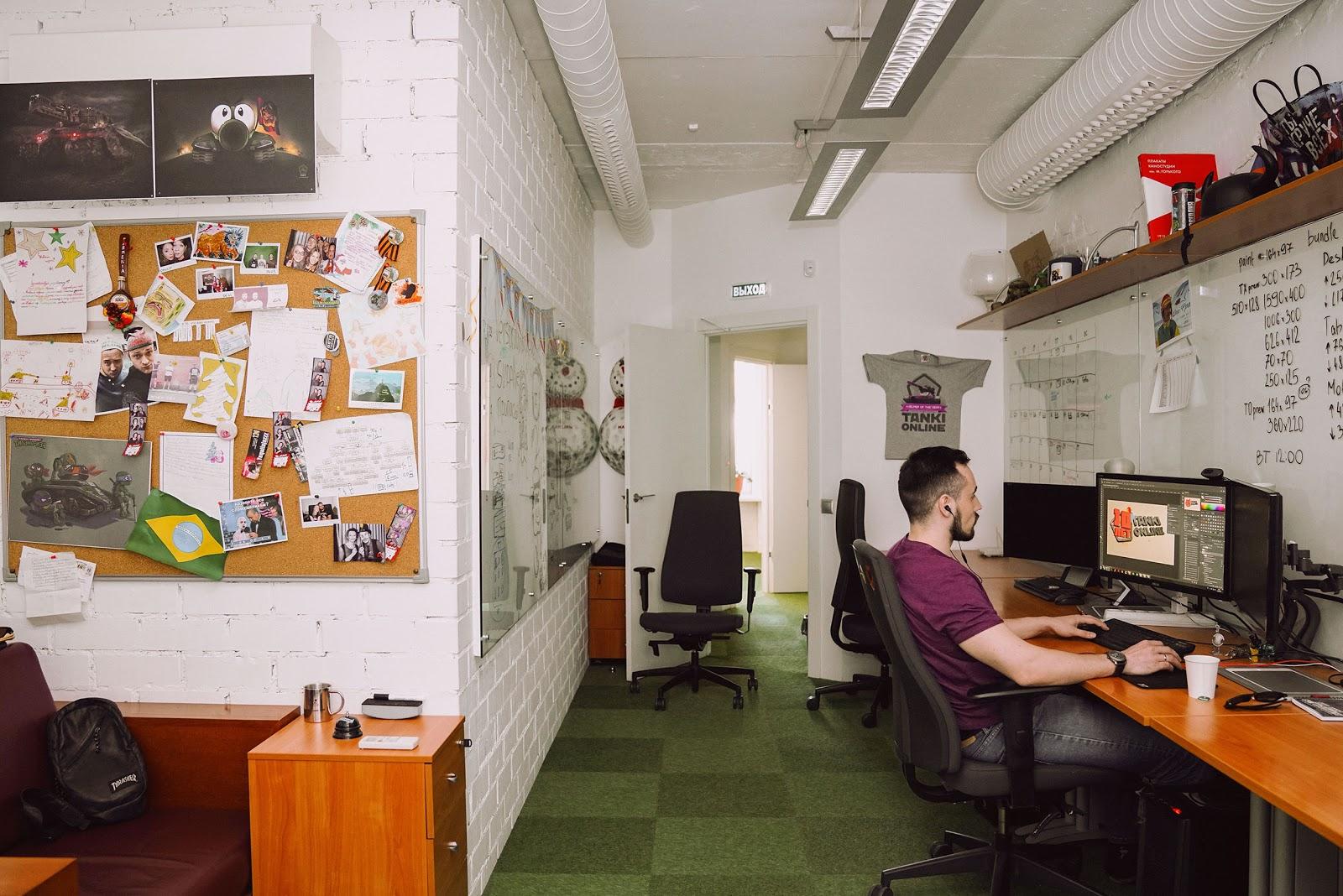 Комфортный офис — помогает работать или мешает и отвлекает? Ответят Sidenis, Alternativa Games и FunBox - 12
