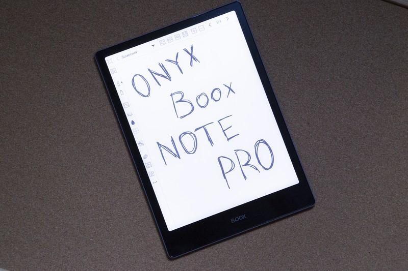 Обзор ONYX BOOX Note Pro: топовый ридер для работы с PDF - 1
