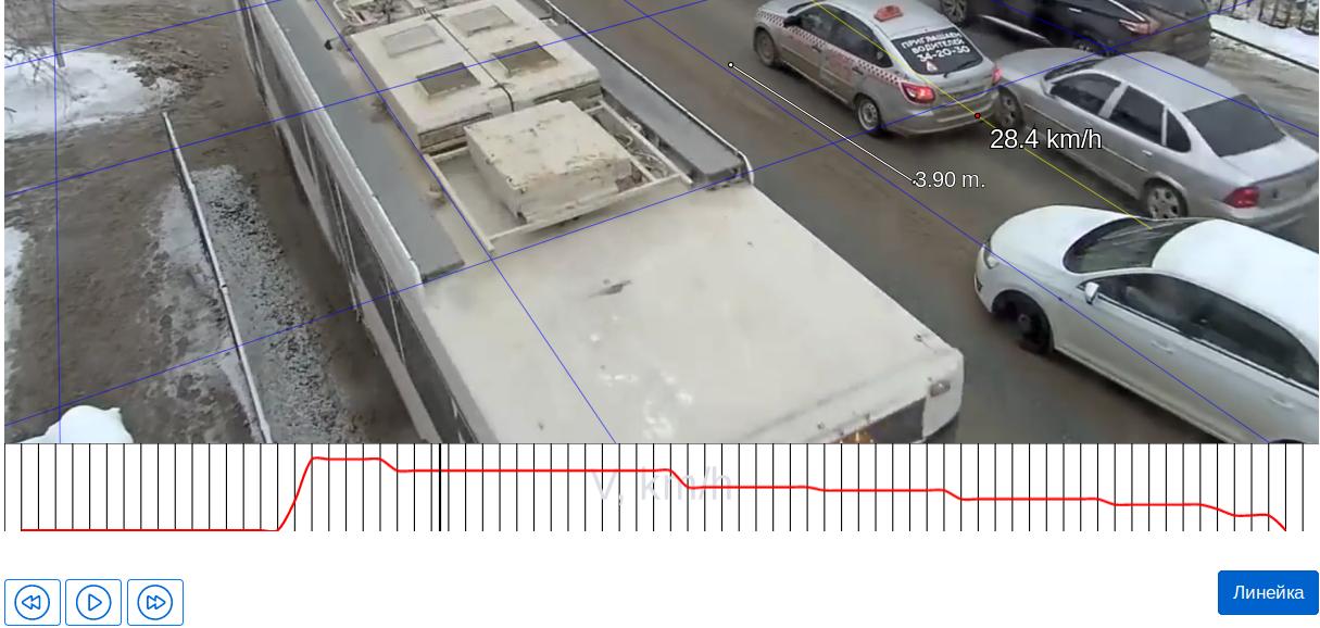 Онлайн сервис «Анализ скорости при ДТП по видеозаписи» - 14