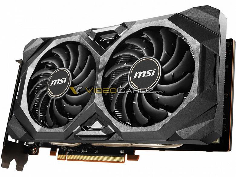 Представлен окончательный дизайн MSI Radeon RX 5700 MECH OC