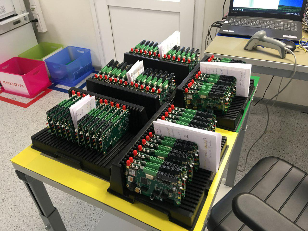 Серийное производство электроники в России. Как мы делали телеметрию для вендинга - 1