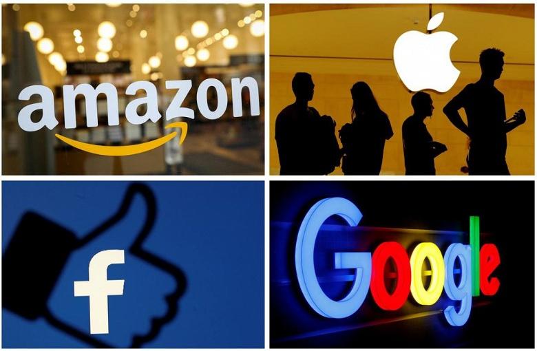 Google, Facebook и Amazon выступят в США против французского цифрового налога