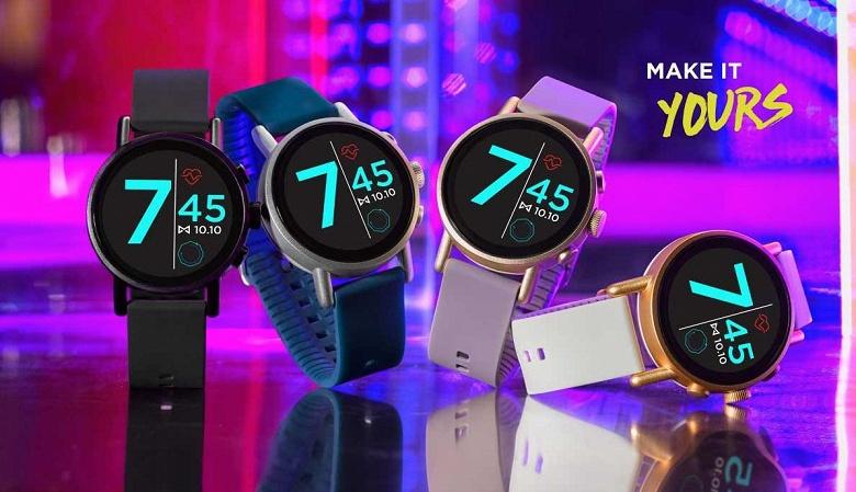 Misfit Vapor X — тонкие и лёгкие умные часы с WearOS, которые могут привлечь дизайном