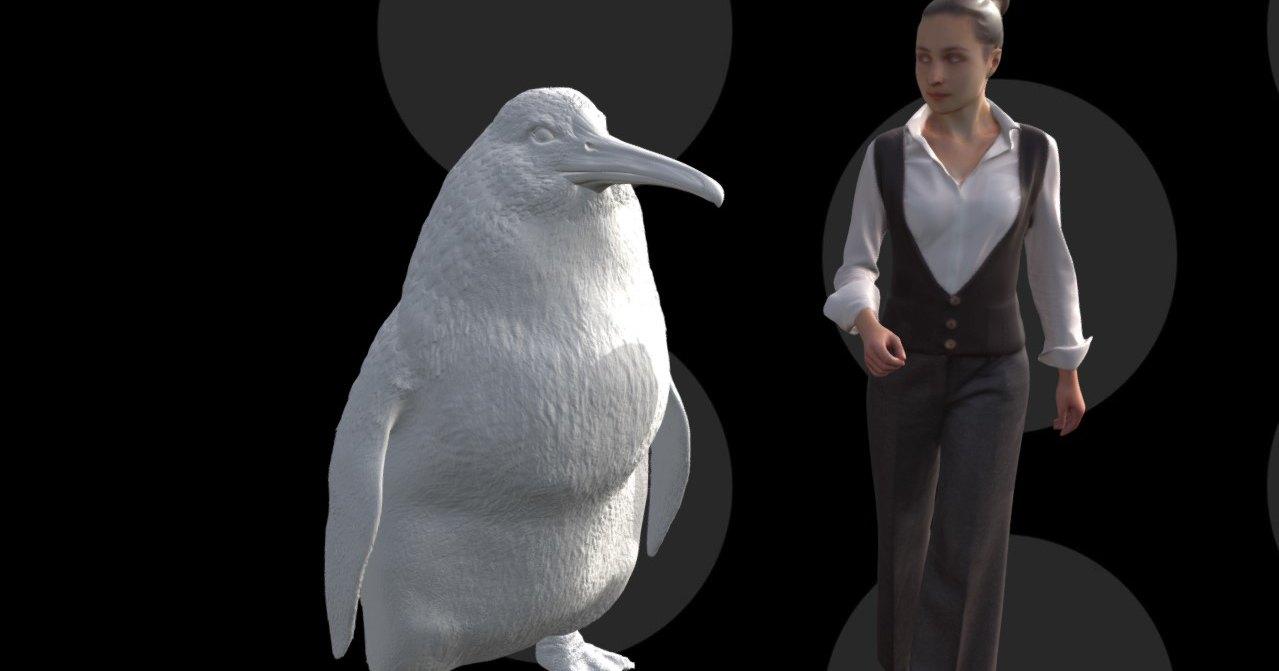 Древний пингвин из Новой Зеландии был ростом с человека