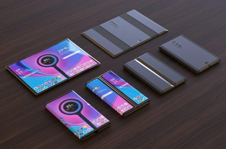 Галерея дня: складной смартфон Xiaomi с гибким экраном в обновлённом дизайне