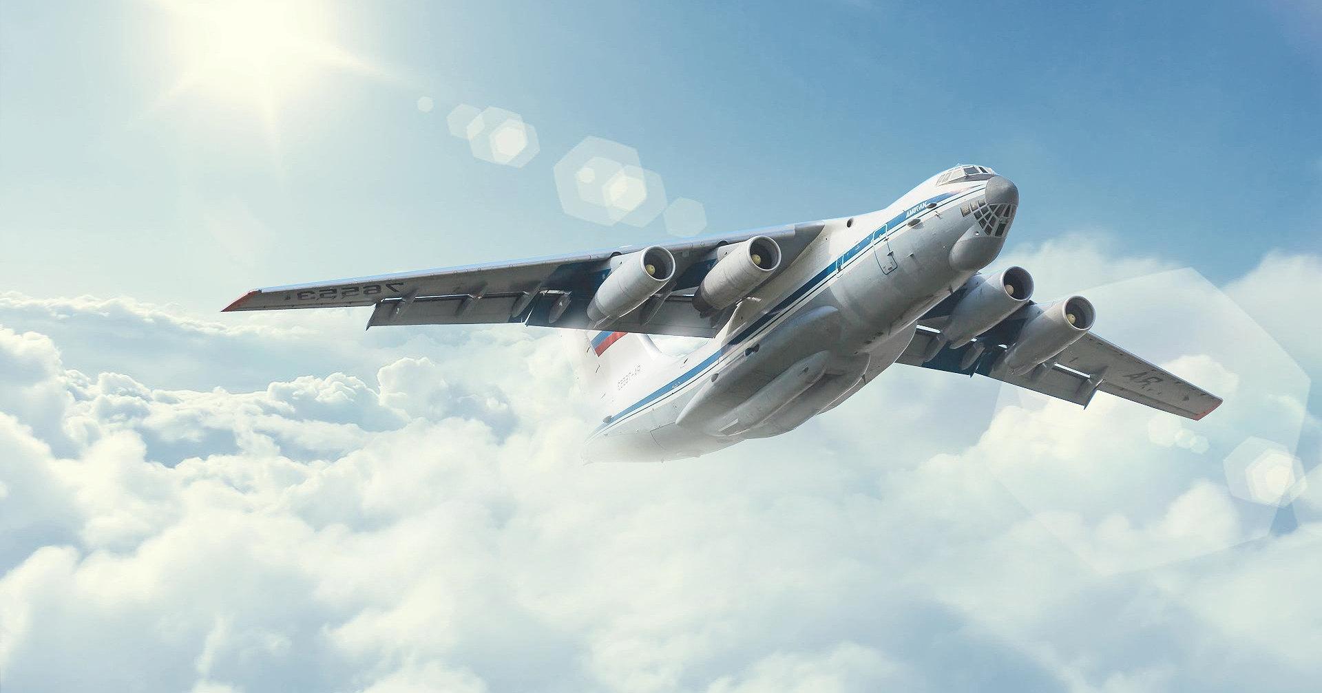 Ил-76 получит ультрафиолетовую защиту от ракет