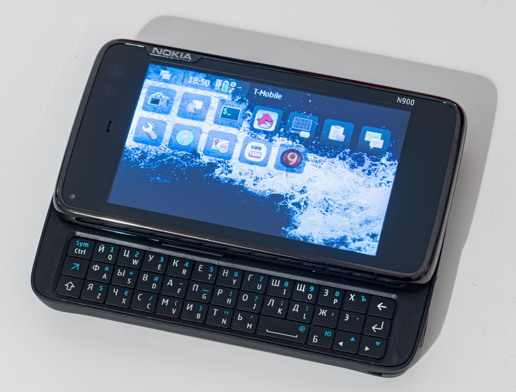 Древности: Nokia N900 — телефон, который отличается - 7
