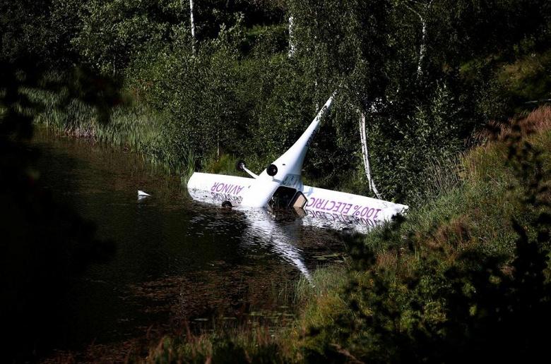 Первый норвежский электрический самолет потерпел крушение