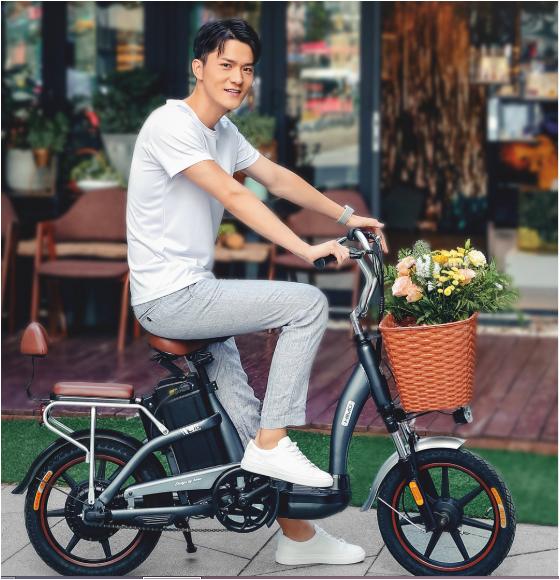 Представлен электрический мопед-велосипед Xiaomi Himo C16