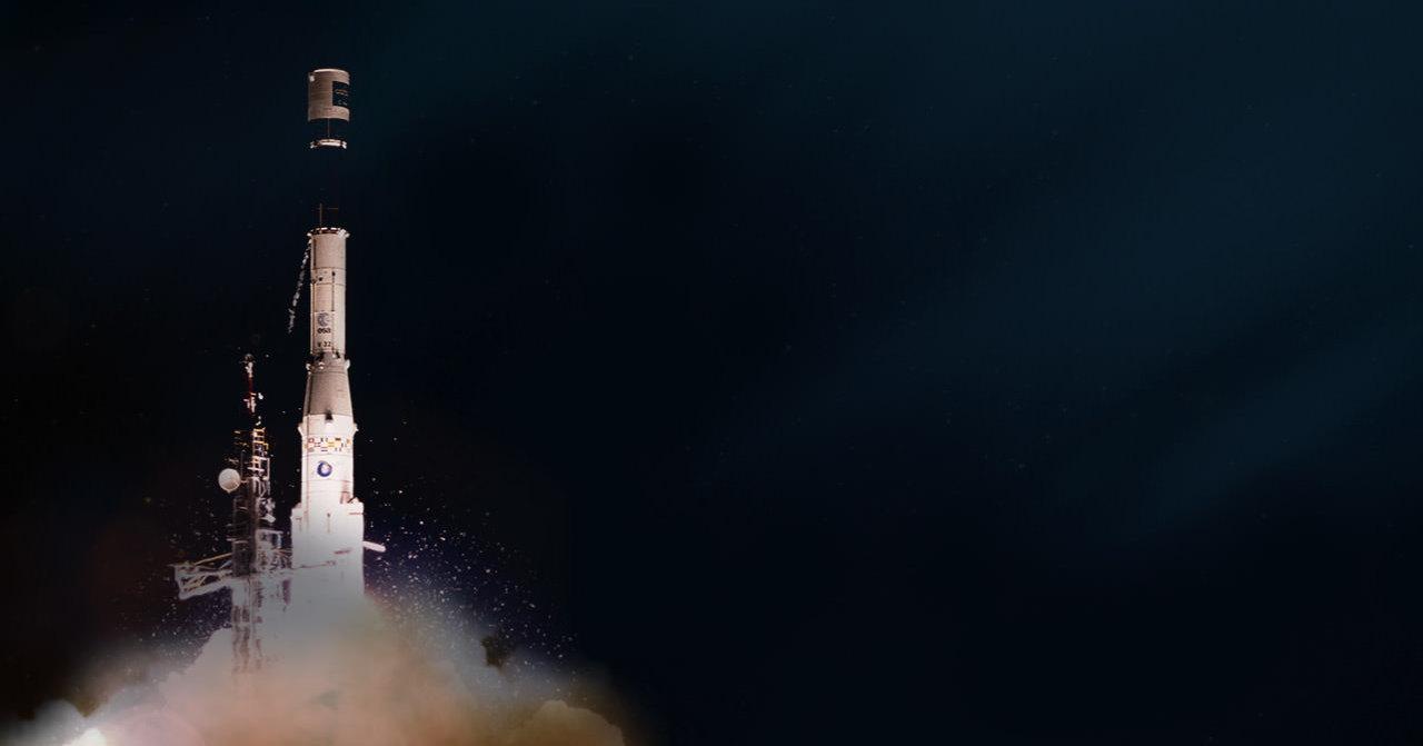 США отследили взрыв европейской ракеты в космосе