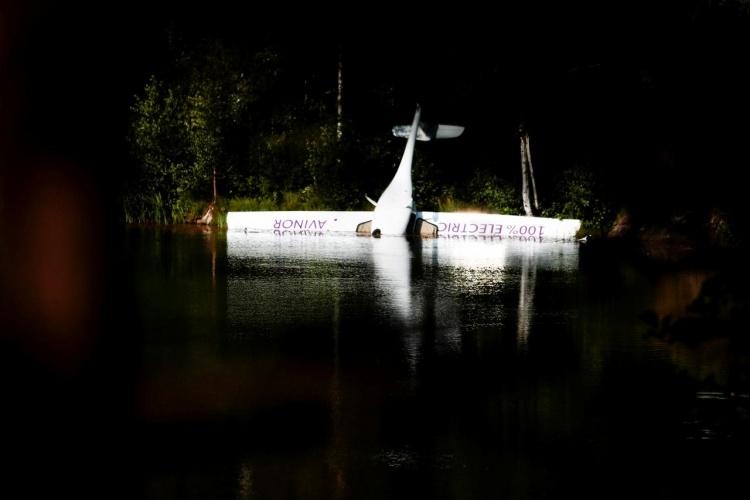 В Норвегии произошло крушение электросамолёта