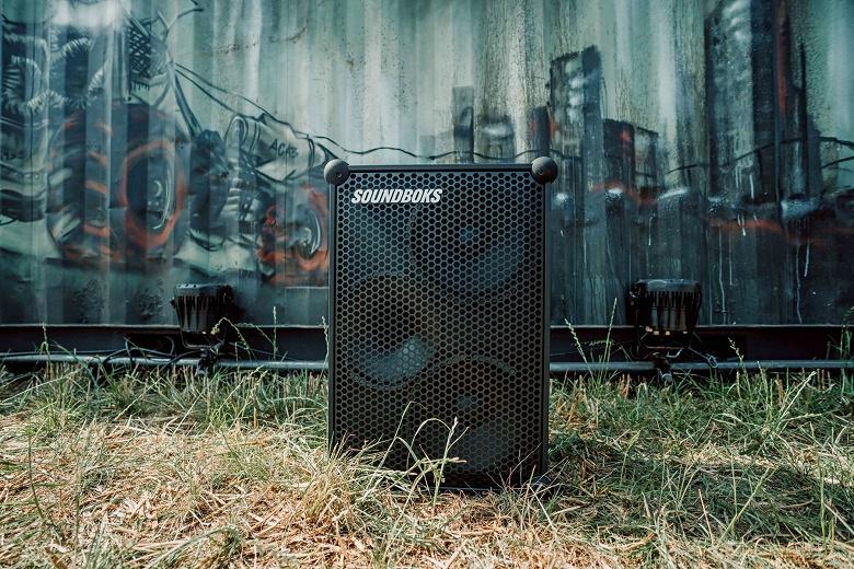 Беспроводная колонка Soundboks Bluetooth весит 15,4 кг