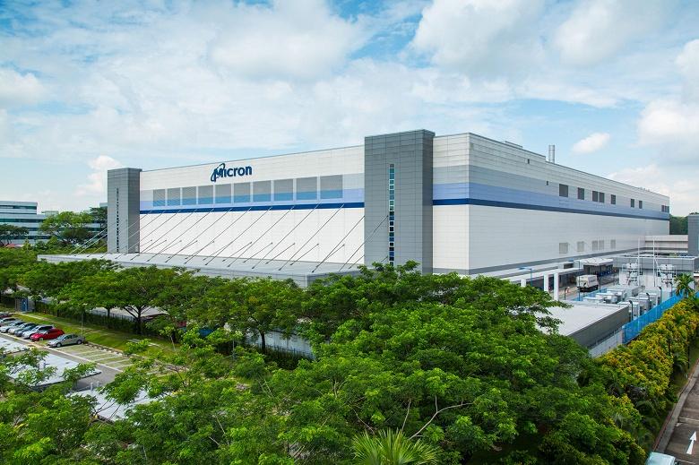 Micron открывает новую фабрику NAND в Сингапуре