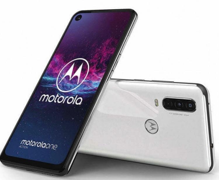 Дебют Motorola One Action: смартфон с тройной камерой и экраном 21:9