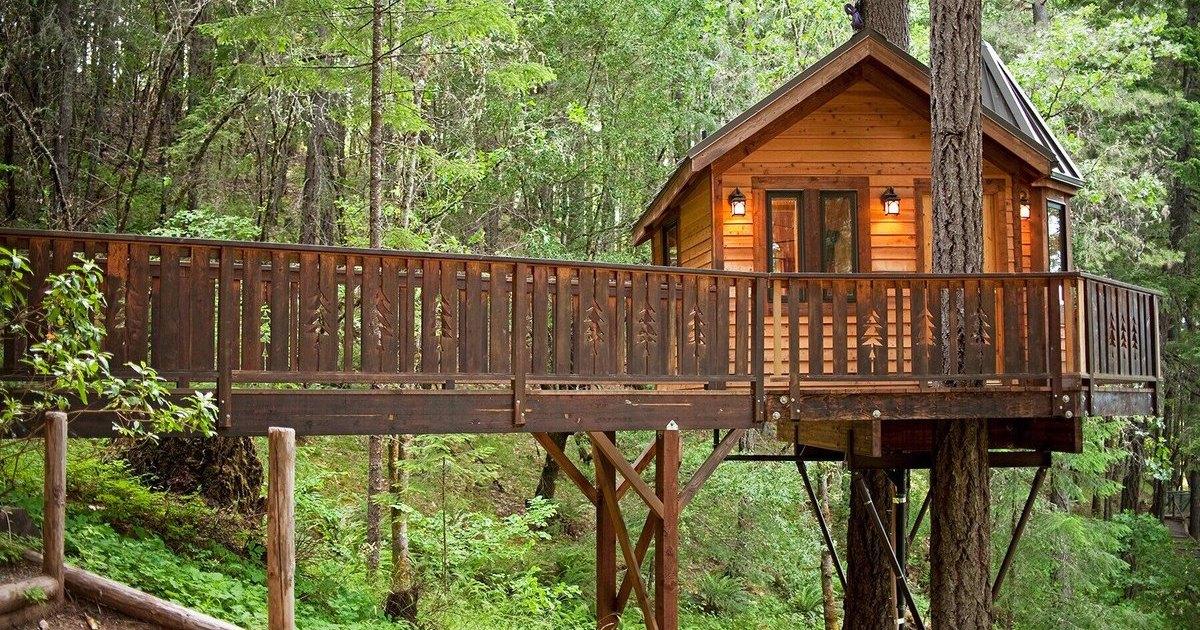 Как построить домик на дереве: часть 2